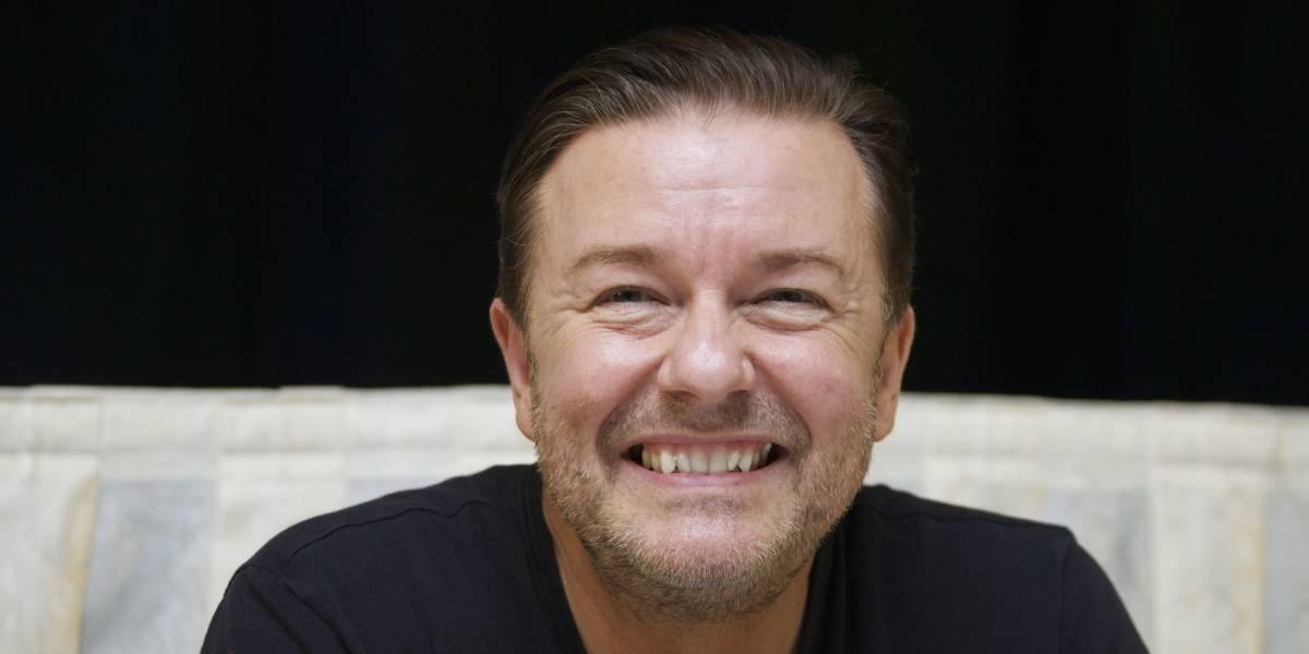 Nueva película de Ricky Gervais será estrenada de forma exclusiva en Netflix