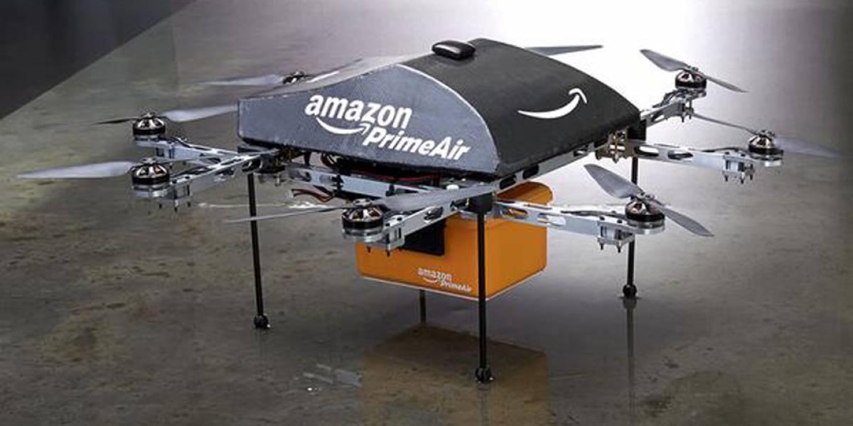 Amazon trabaja en realizar repartos con drones en media hora