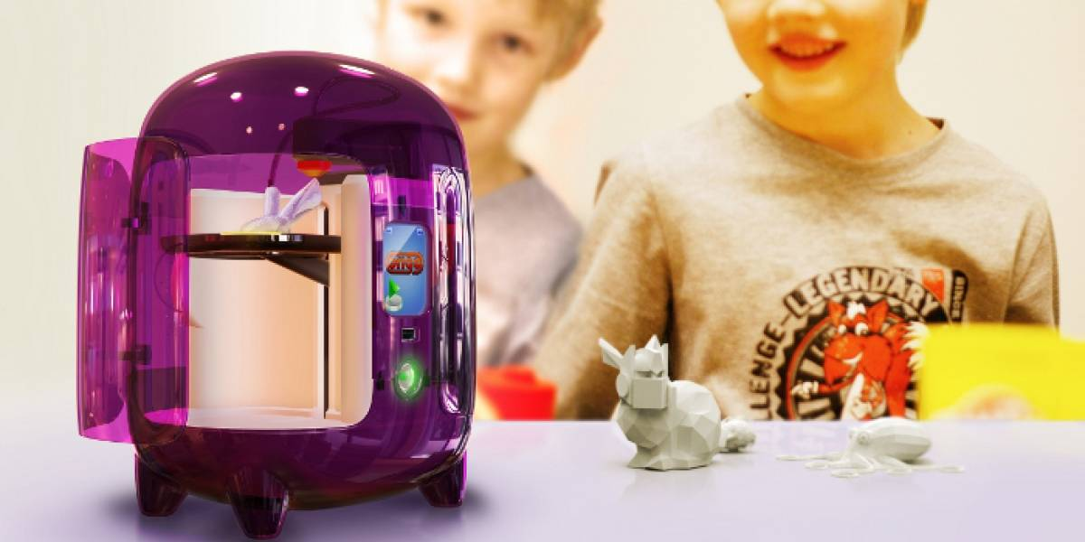 Concepto: Origo 3D, una máquina que hace realidad las figuras dibujadas por los niños