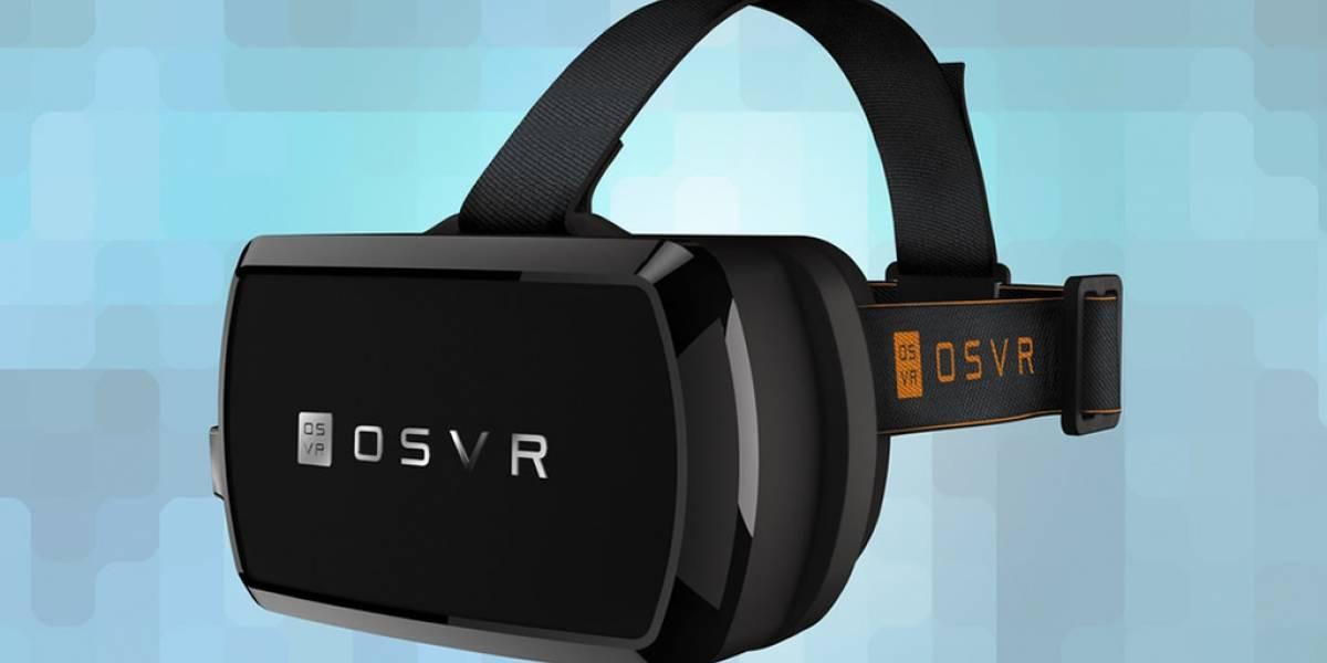 Razer anuncia su plataforma VR de código abierto #CES2015