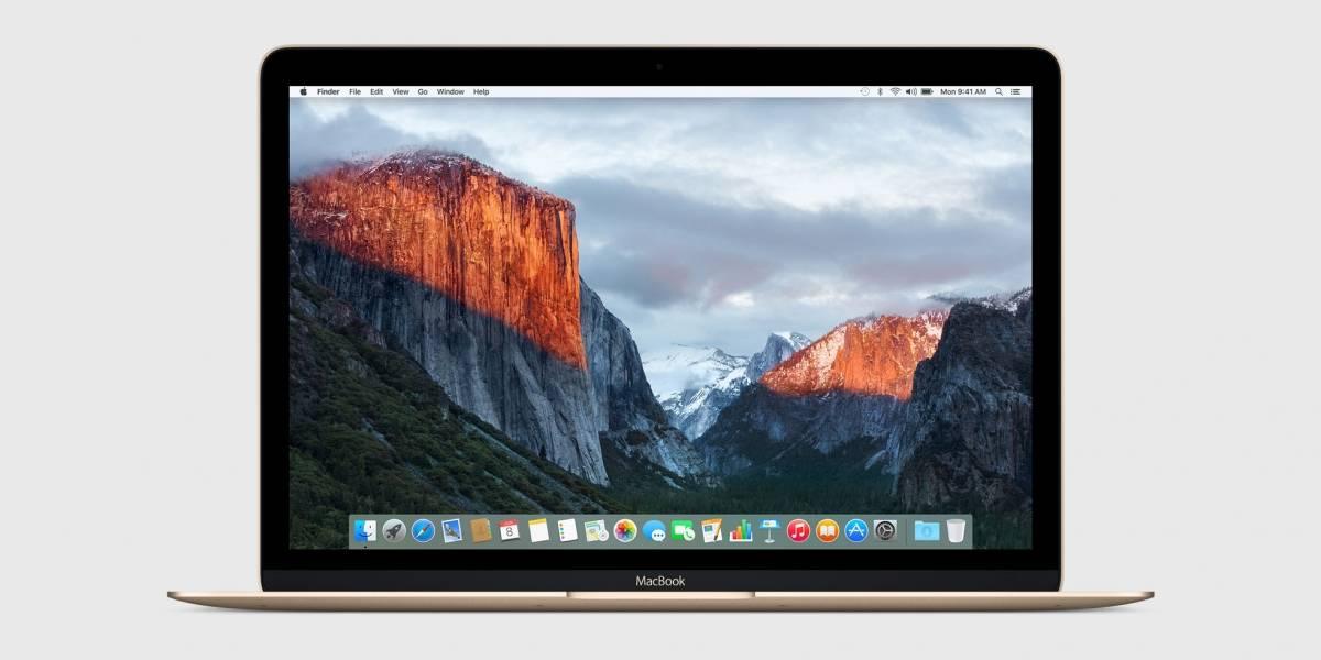 Mac OS X El Capitan podrá ser descargado por todos a partir del 30 de septiembre