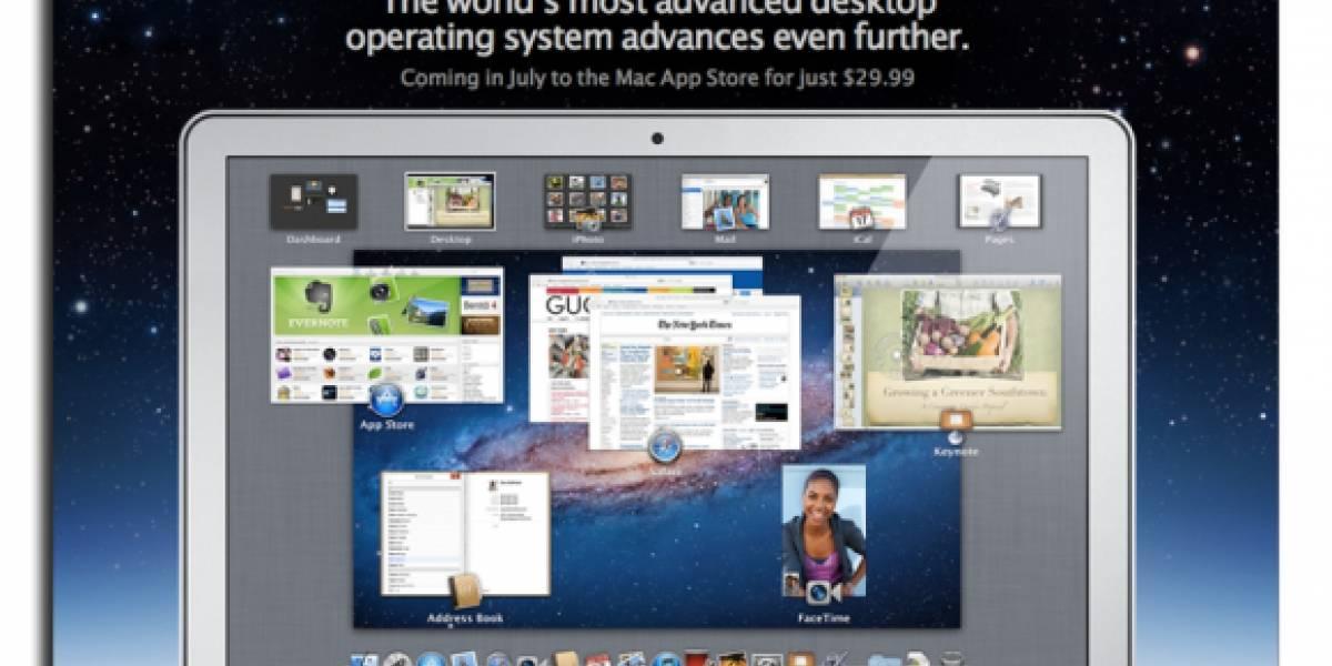 Mac OS X Lion y nuevo MacBook Air saldrían a la venta en menos de dos semanas