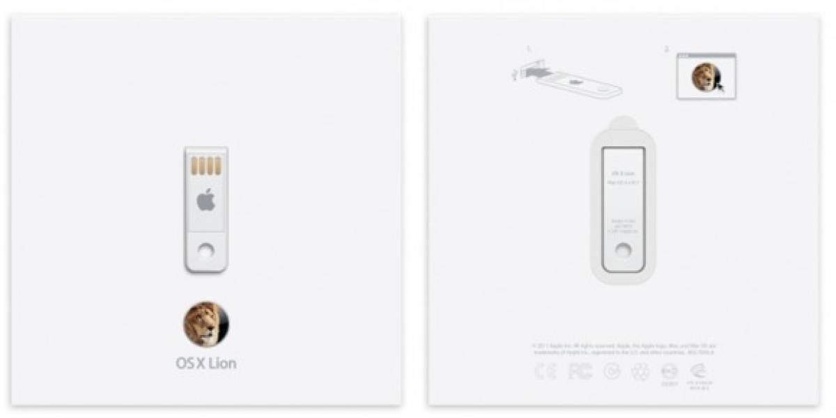 Desde hoy está disponible OS X Lion en USB