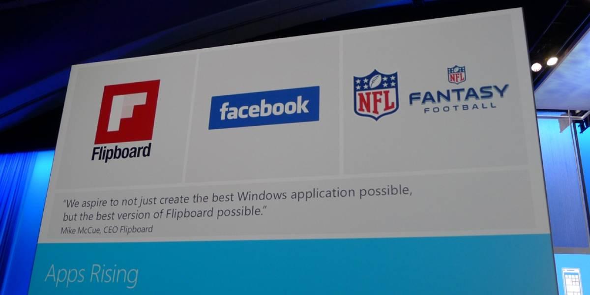 Microsoft anuncia aplicaciones oficiales de Facebook y Flipboard para Windows 8 #bldwin