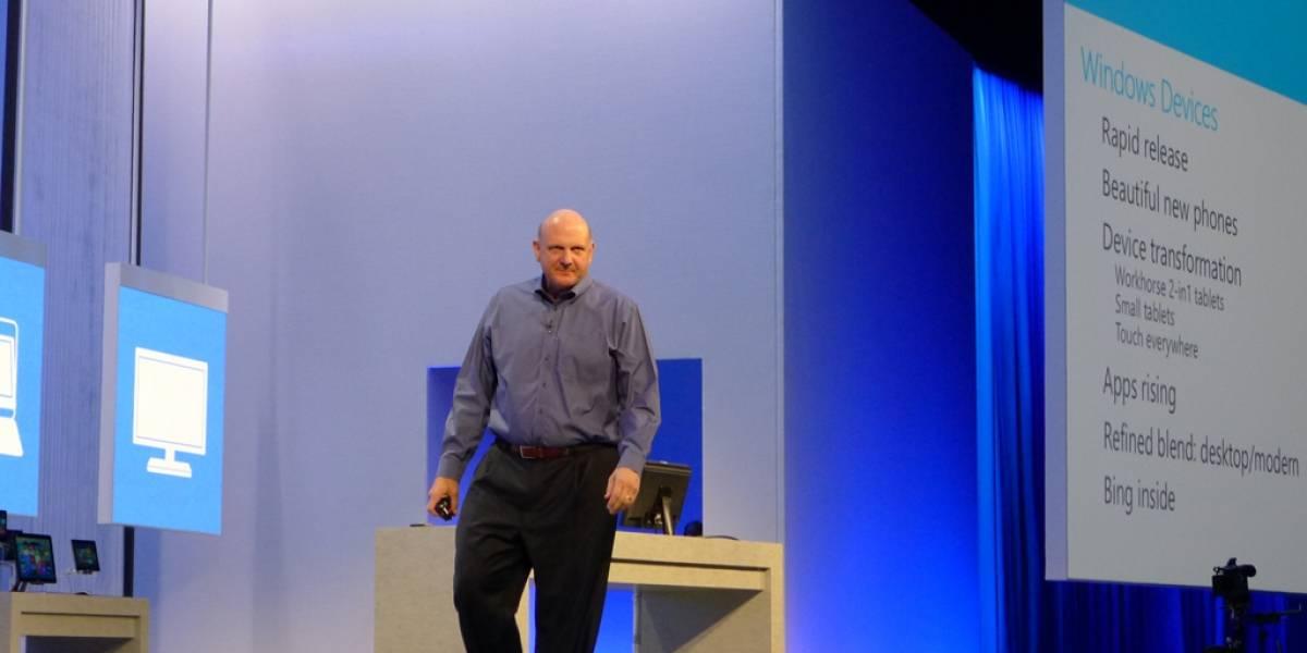 Steve Ballmer se despide de los empleados de Microsoft