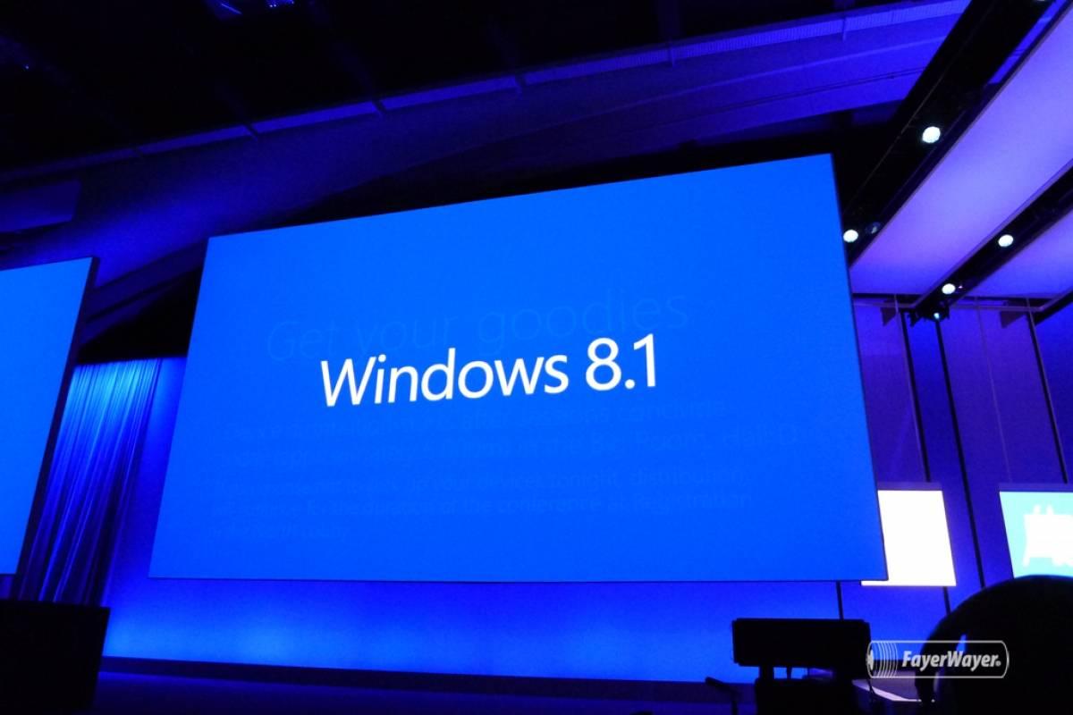 Microsoft confirma Windows 8.1 para el 18 de octubre
