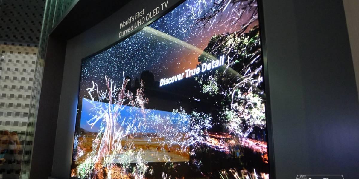 Samsung anuncia el primer televisor OLED 4K curvo