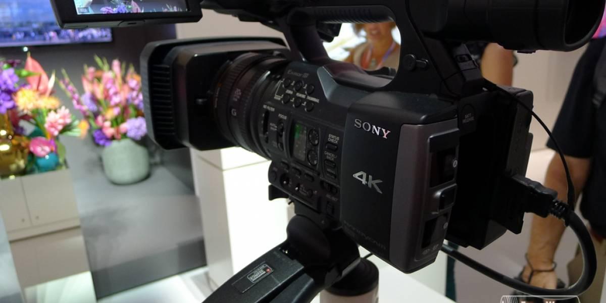 Sony lanza la videocámara PXW-Z100 que filma en 4K
