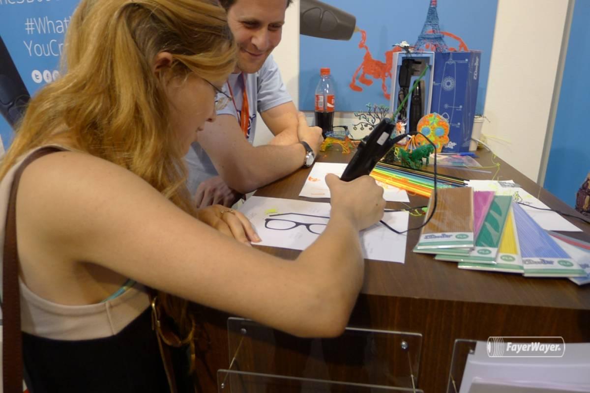 3Doodler, el lápiz que imprime en 3D, a primera vista