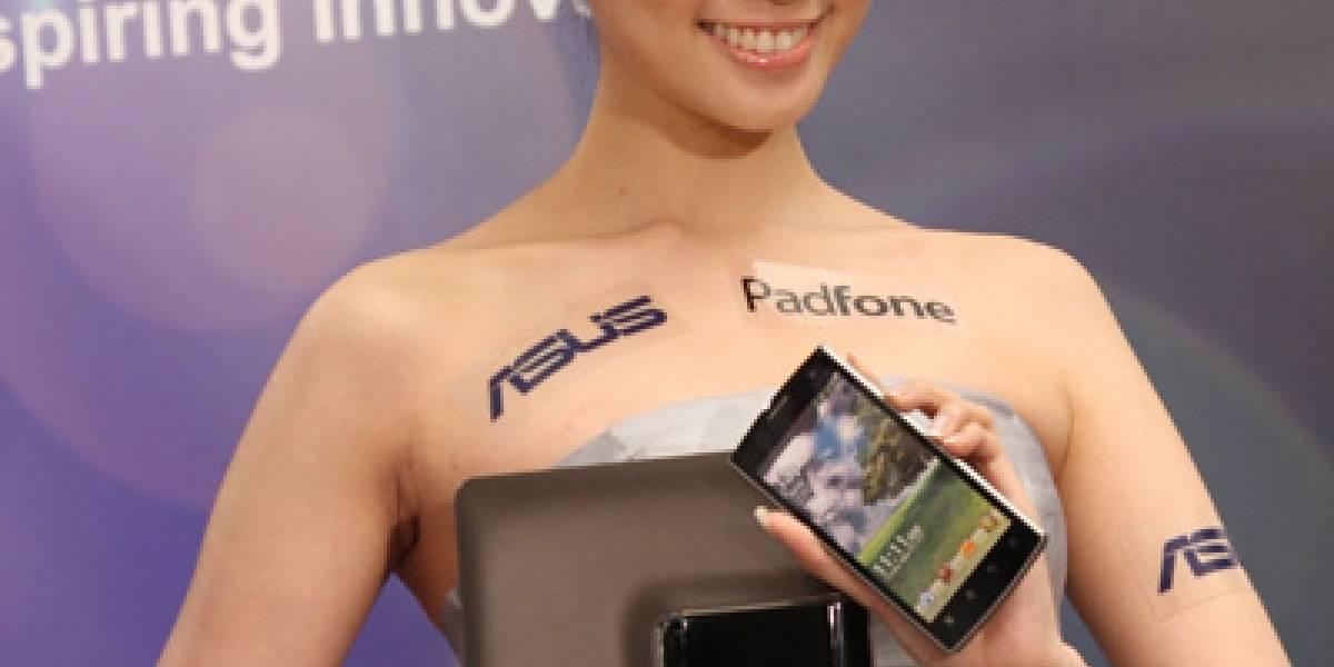 """CTX2011: Asus presenta el """"PadFone"""", un teléfono que se transforma en tablet"""