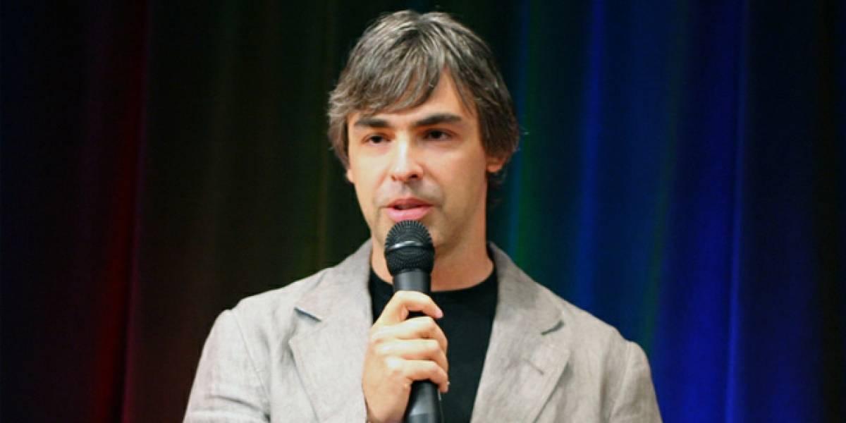 Larry Page está afónico y no participará en Google I/O