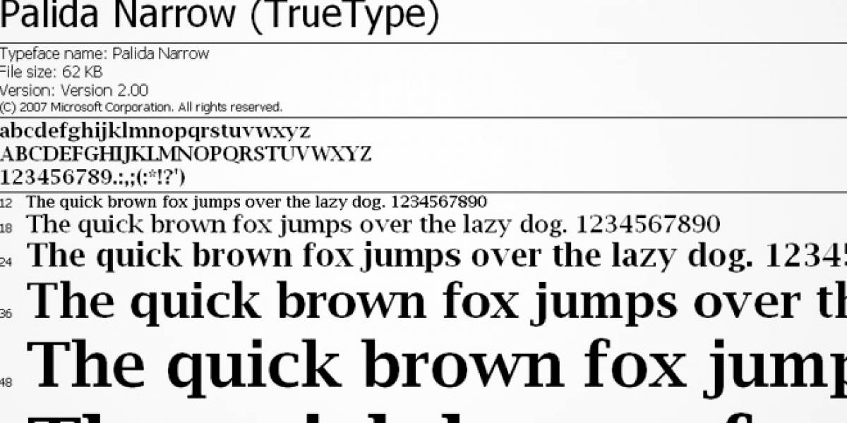 La misteriosa tipografía Palida Narrow del malware Gauss