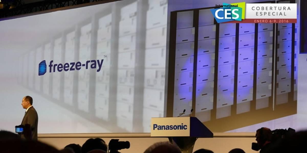 Panasonic lanza discos Freeze-ray en colaboración con Facebook #CES2016