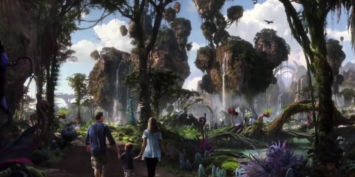 El mundo de Avatar será recreado en un parque temático de Disney