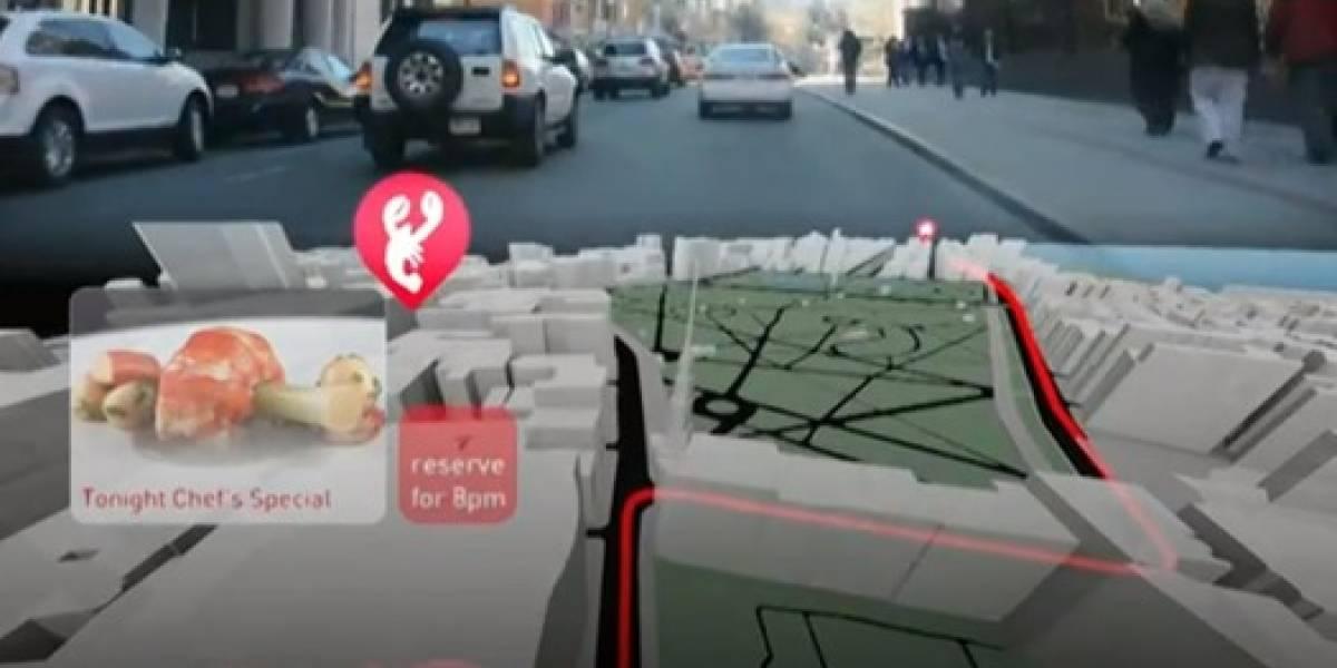 Concepto del MIT quiere convertir el tablero del auto en un mapa 3D