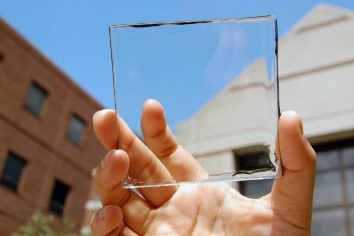 Crean el primer panel solar totalmente transparente