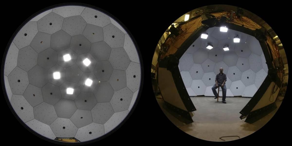 Desarrollan sistema panóptico para grabar movimiento en 3D