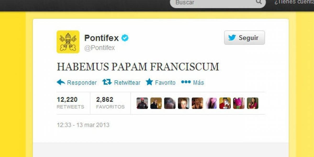 #HabemusPapam: La elección de Francisco I se toma Twitter