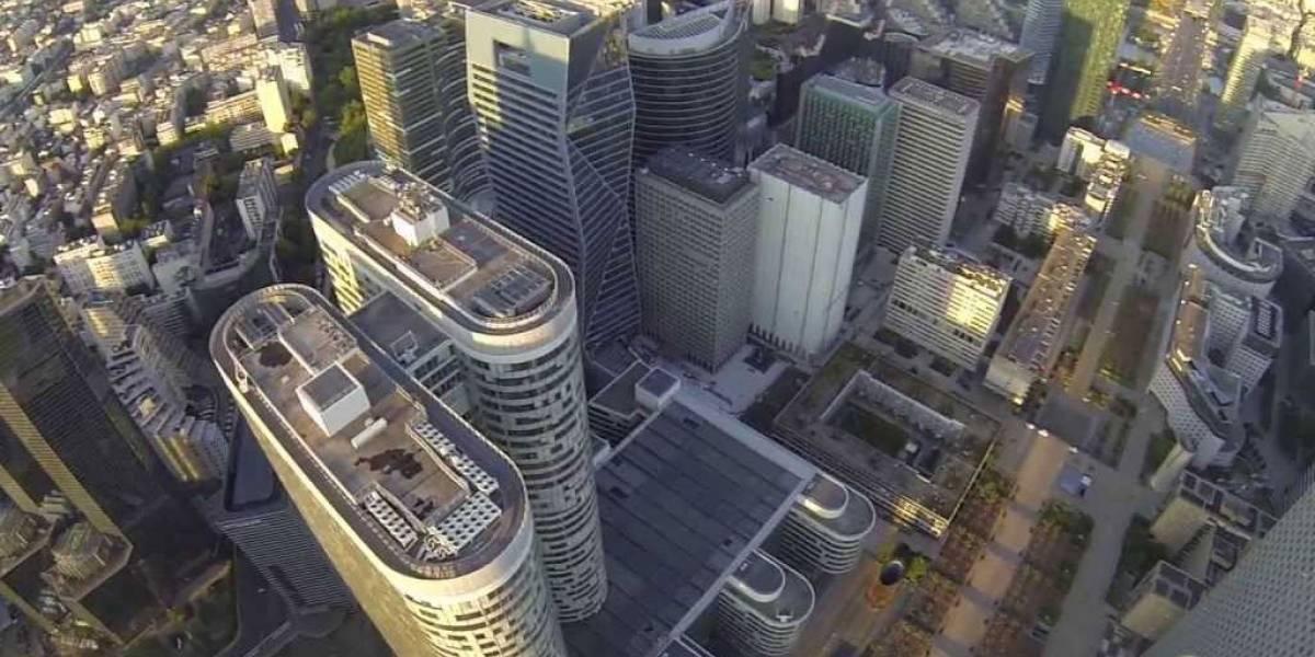 5 ciudades de Europa vistas desde un dron