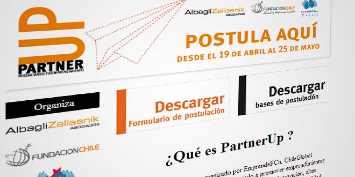 Chile: Partner Up, un concurso para emprendedores e innovadores