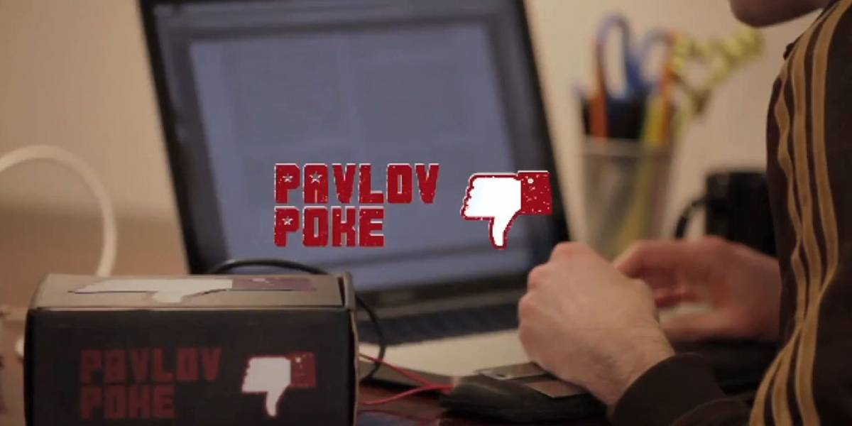 Pavlov Poke: La cura a Facebook usando descargas eléctricas