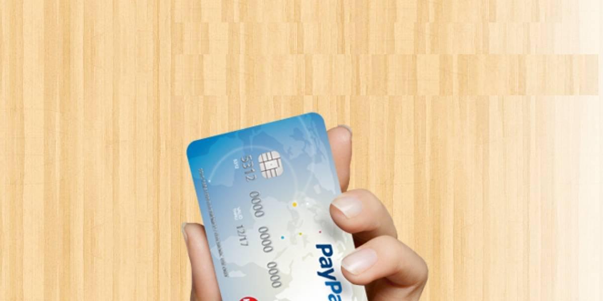 PayPal lanza su tarjeta prepago en España