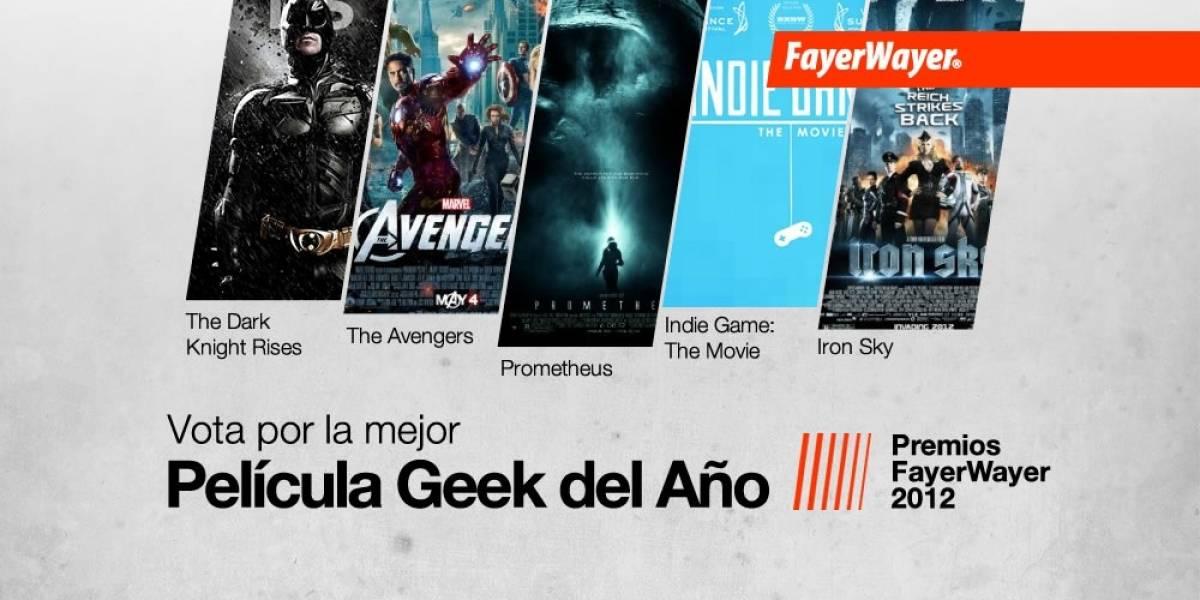Pila de Oro: Vota por la Mejor Película Geek del Año 2012