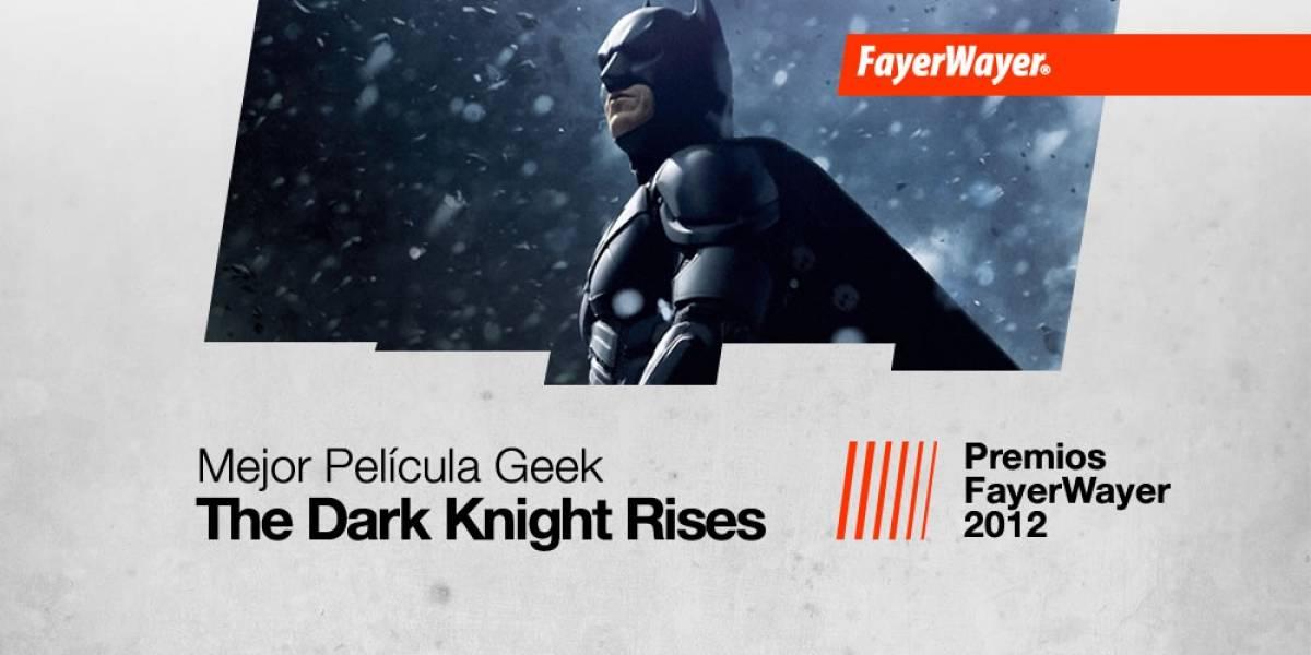 The Dark Knight Rises: La Mejor Película Geek del Año 2012
