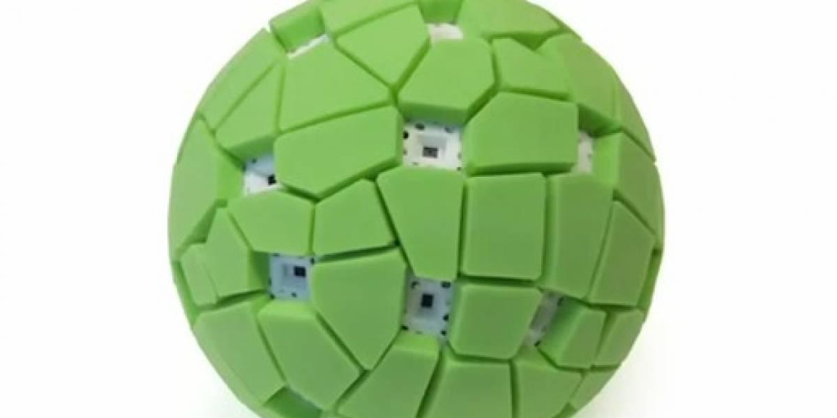 Toma fotos panorámicas con esta pelota-cámara
