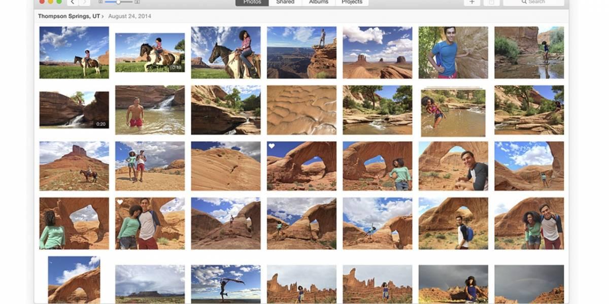 Ya está disponible el nuevo beta público de OS X Yosemite con la aplicación Photos integrada