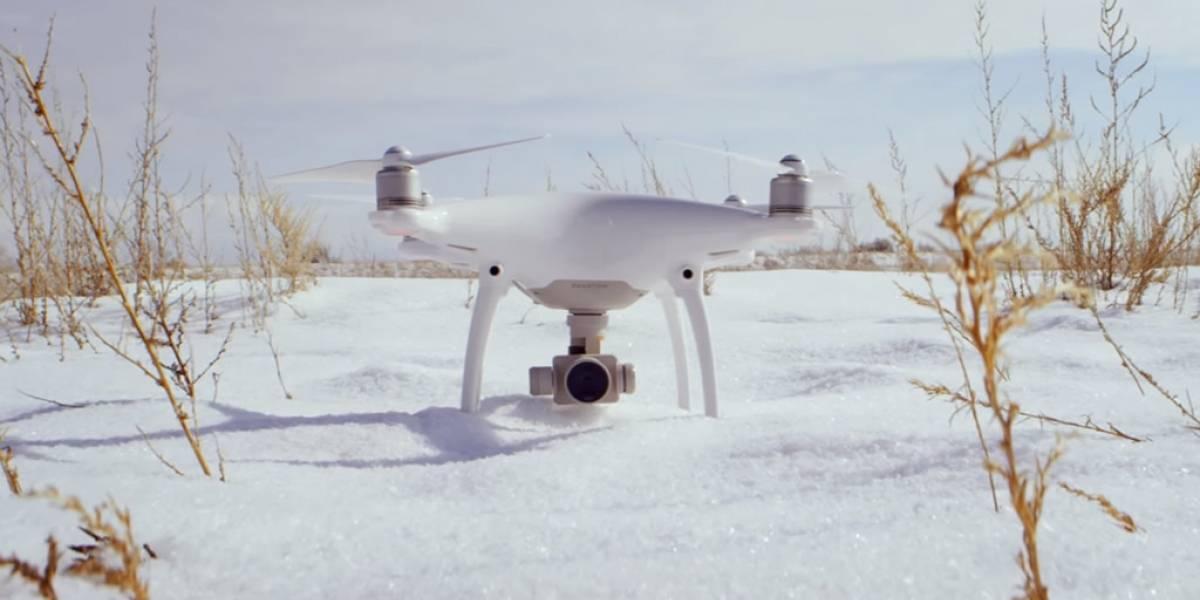 DJI reveló el espectacular dron Phantom 4