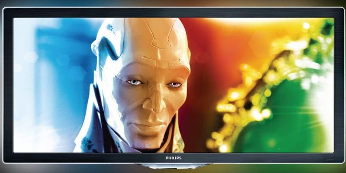 IFA 2010: Philips lanza televisor 3D con relación de aspecto 21:9