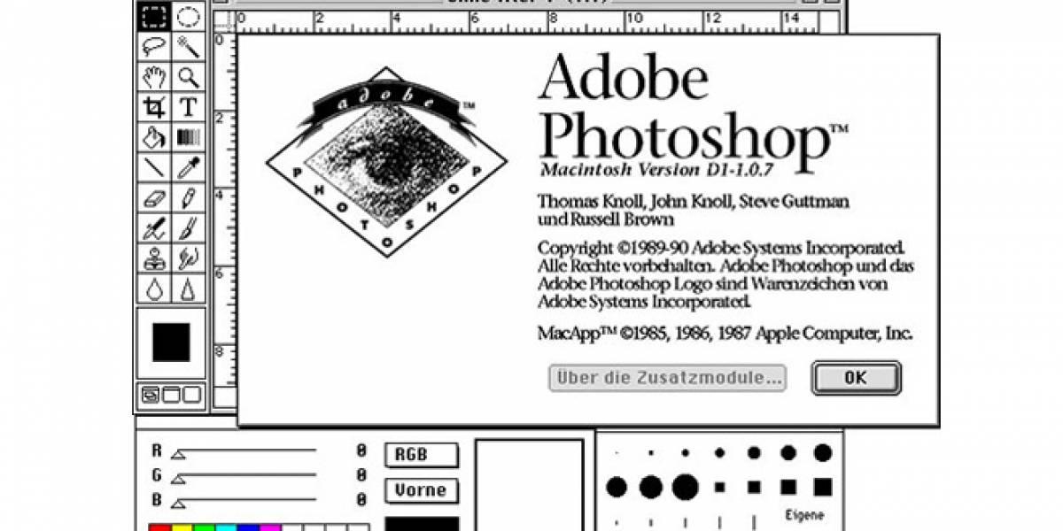 Adobe revela el código fuente de Photoshop versión 1.0, ahora es gratis para todos