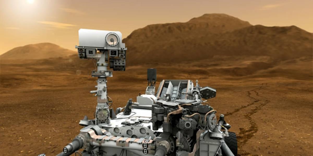 Computadora principal del Curiosity falla y es reemplazada