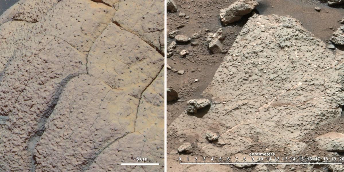 Curiosity descubre que Marte alguna vez tuvo las condiciones para albergar vida