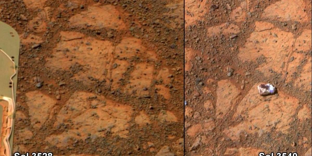 NASA responde a la curiosa demanda por 'no investigar' la roca que 'se movió sola'