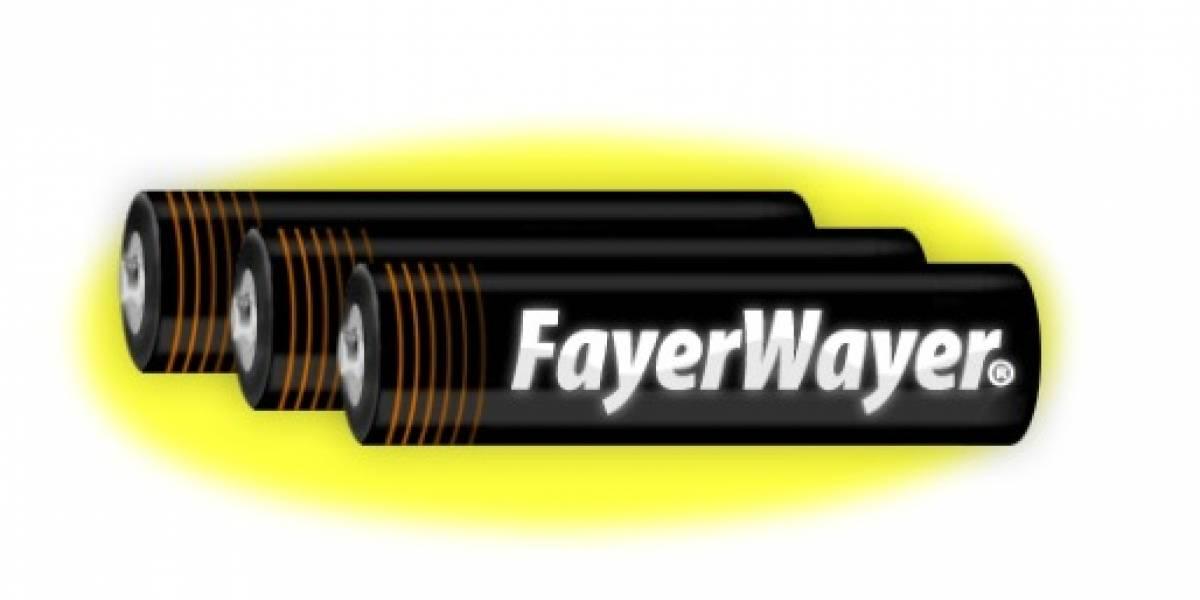 Pila FayerWayer a lo mejor del año, elegido por ti