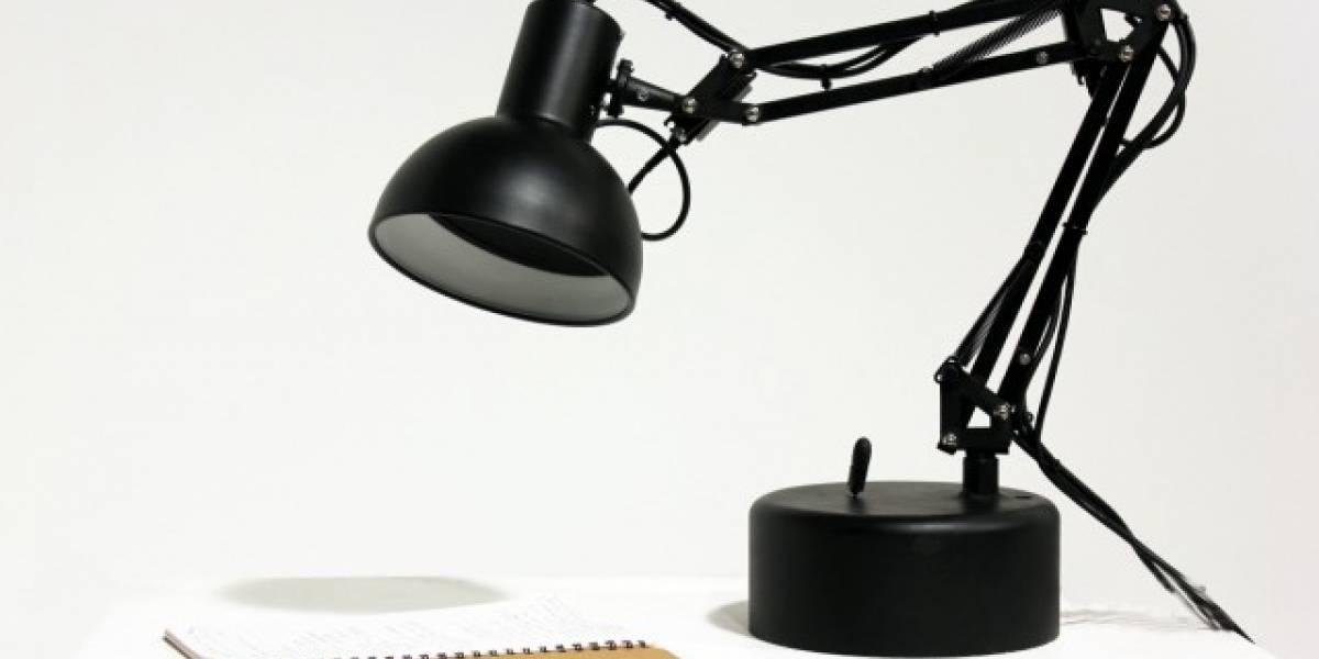 ¿Es el logo de Pixar, o una lampara robot animada?