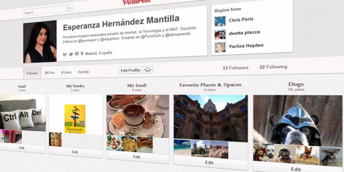 Pinterest valdría US$ 1.500 millones... ¿Se infla la burbuja 2.0?