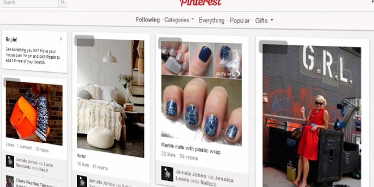 Pinterest entra al Top 50 de los sitios más visitados en Estados Unidos