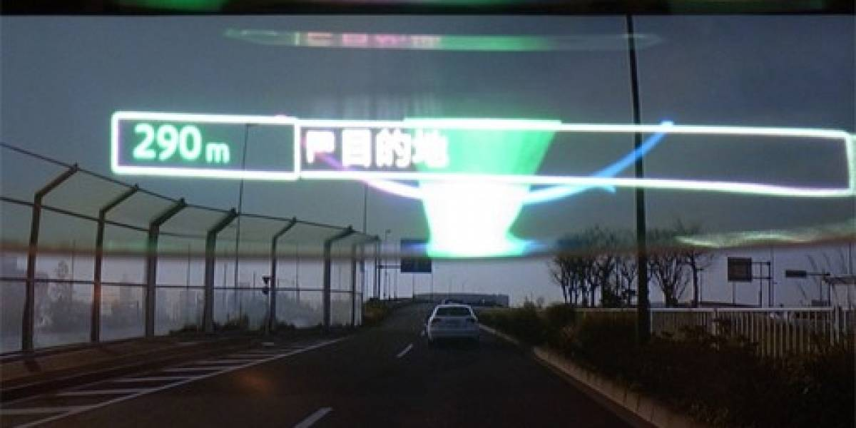 Pioneer estrena GPS con realidad aumentada vía HUD