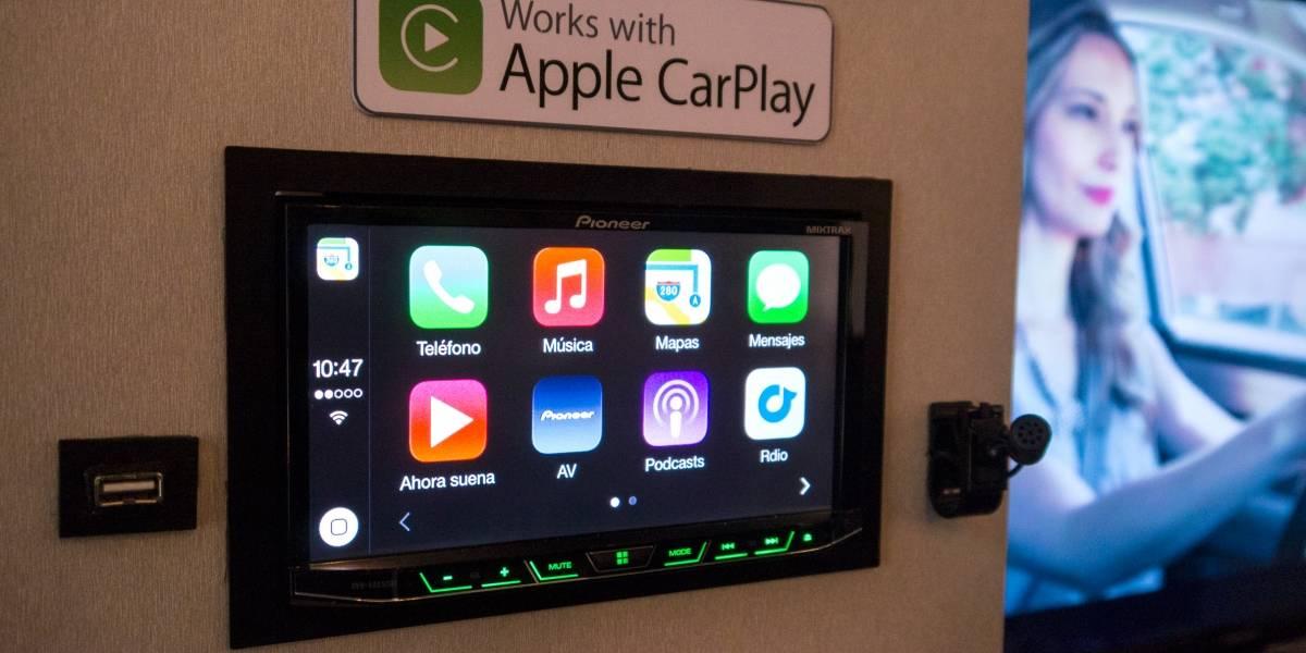 Pioneer con Apple CarPlay a primera vista