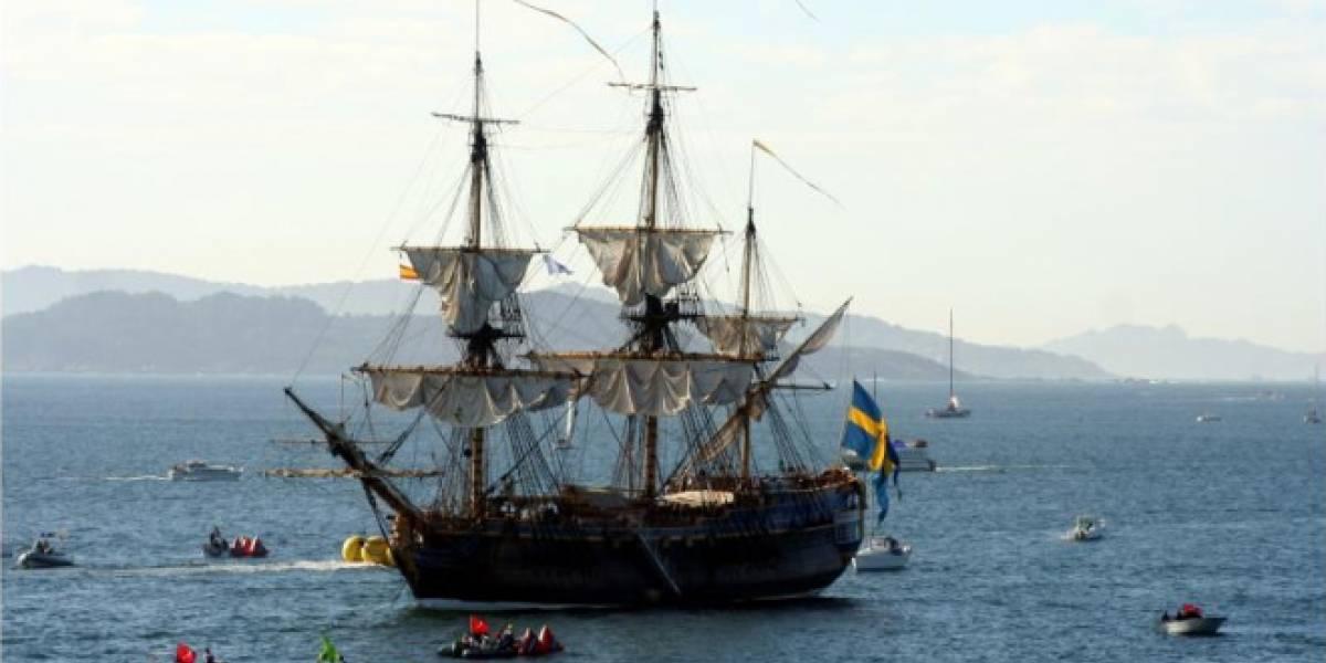 Esta cortina de agua antipiratas alejará a los piratas de verdad