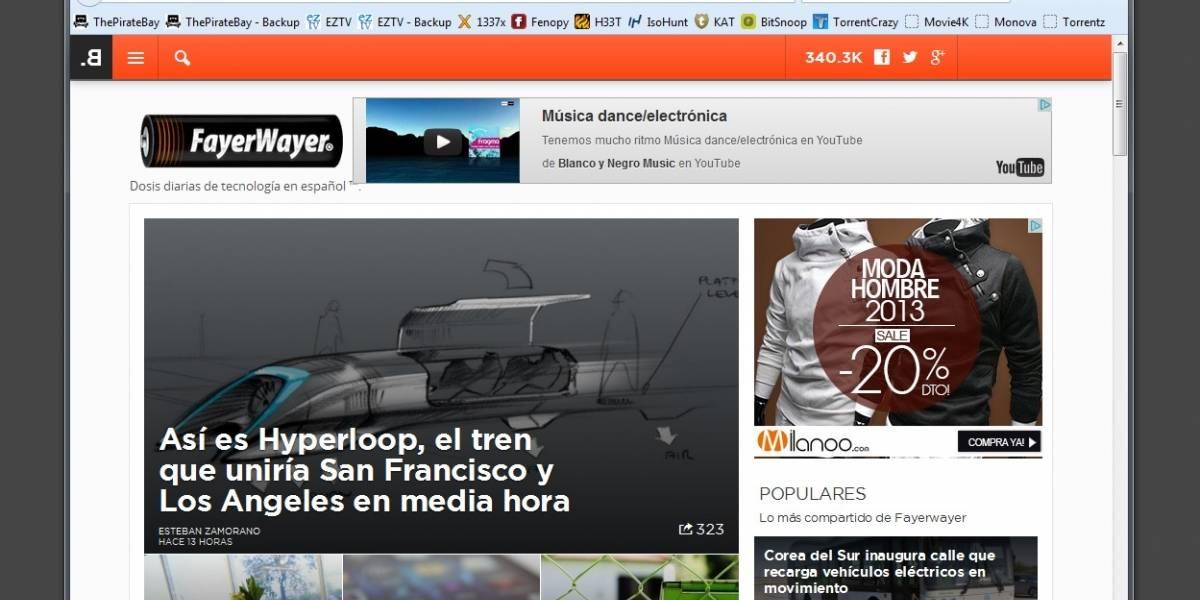 The Pirate Bay lanza el navegador PirateBrowser
