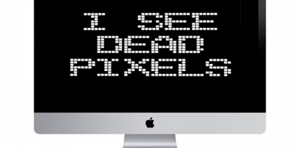 Si la pantalla de tu Mac tiene hasta 15 pixeles malos, Apple no hará nada al respecto