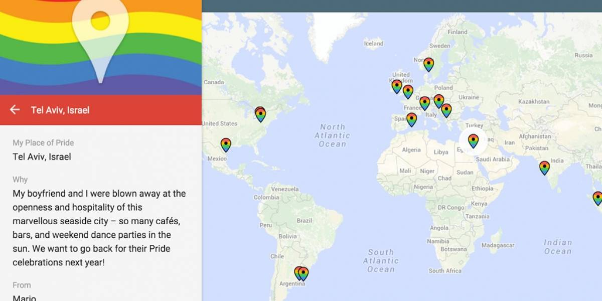 Google lanza mapa del orgullo LGBT en Australia