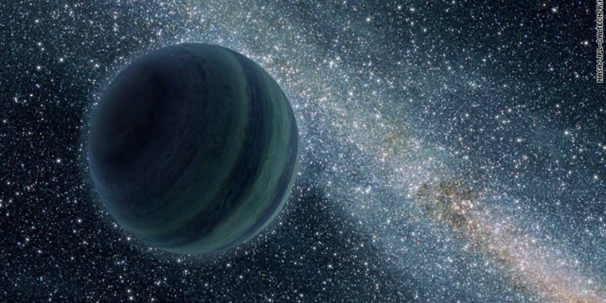 """Descubren nuevo tipo de planetas """"huérfanos"""" que flotan sin rumbo"""