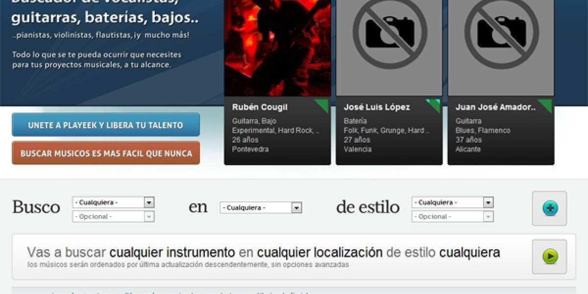 España: Nace Playeek, la red social de los músicos