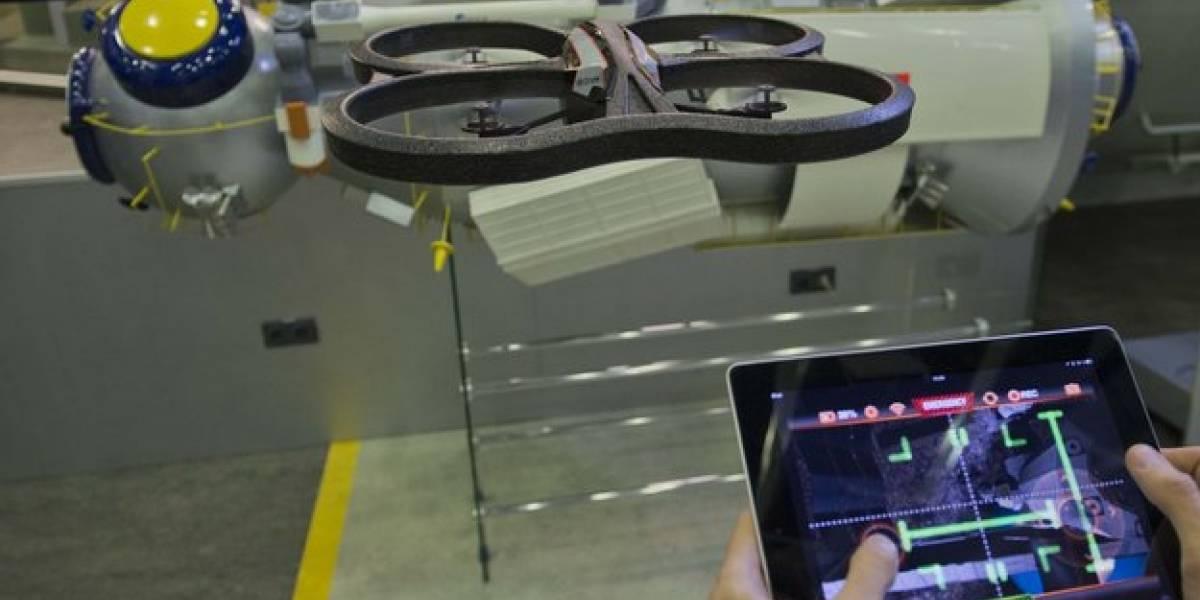 Agencia Espacial Europea busca ayuda para estacionar naves espaciales con una app para AR Drones