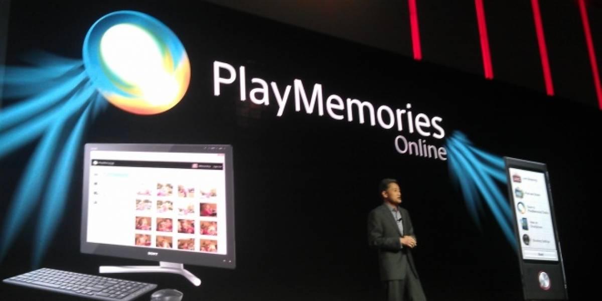 PlayMemories Online es el nuevo servicio de almacenamiento de imágenes de Sony